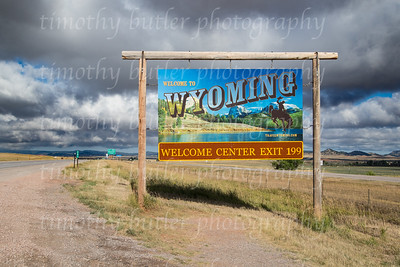 Wyoming/ South Dakota Border