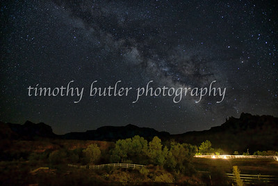 Night sky, Rockville Utah