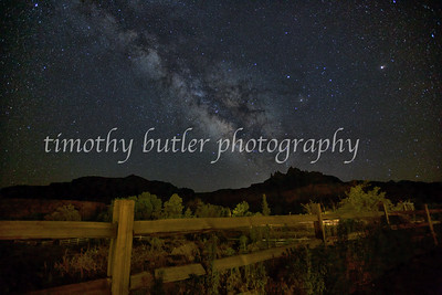 Night sky, Rockville, Utah