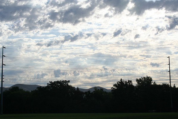 Arizona sunsets August 2008