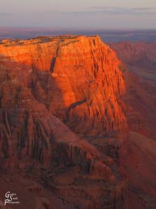 Vermillion Cliffs Glow at Sunset