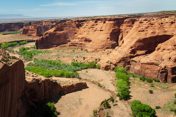 The Arid Landscape of Canyon de Chelly National Monument
