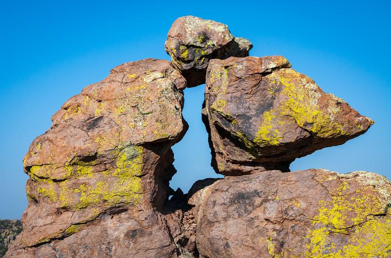 Balanced Rock Window at Chiricahua National Monument
