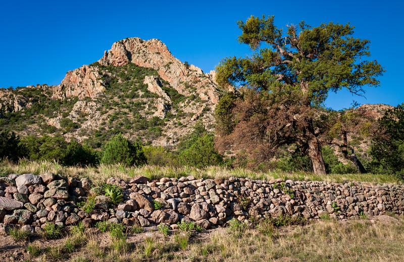 Stone Wall at Chiricahua National Monument