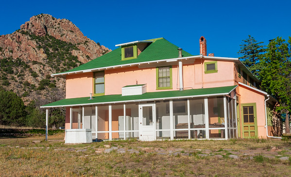 Restorted House at Chiricahua National Monument