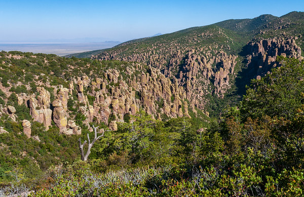The Rugged Hoodoo Filled Landscape of Chiricahua National Monument
