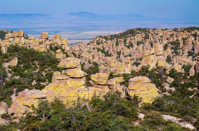 Hoodoos at the Valley at Chiricahua National Monument