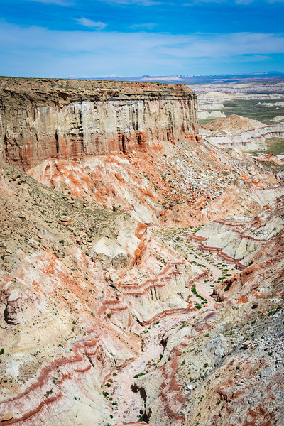 Painted Landscape of Coal Mine Canyon