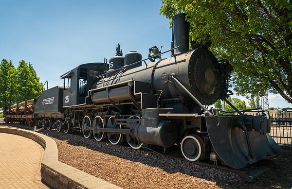 Locomotive at Flagstaff, AZ