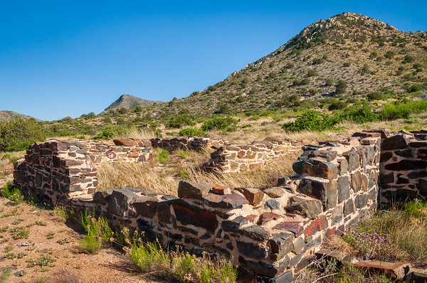 What's Left of a Stone House at Fort Bowie National Historic Site