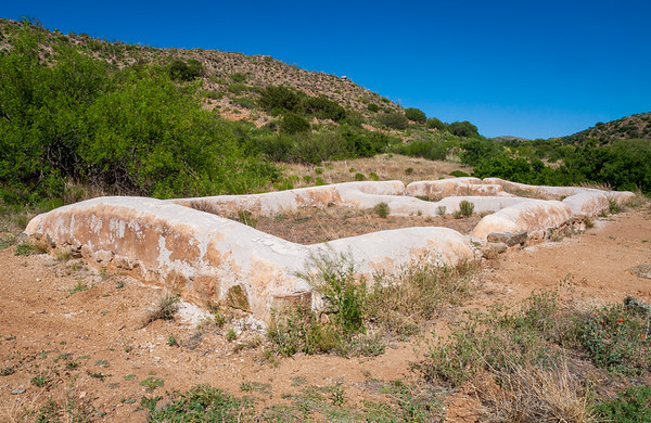 Historic Adobe Ruins at Fort Bowie National Historic Site