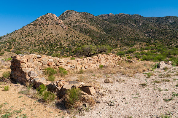 Rock Wall Ruins at Fort Bowie National Historic Site