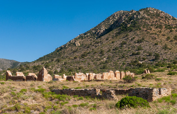Stone and Adobe Ruins at Fort Bowie National Historic Site