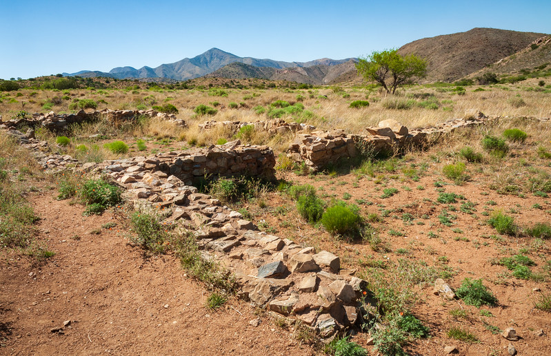 Small Earth Works Wall at Fort Bowie National Historic Site