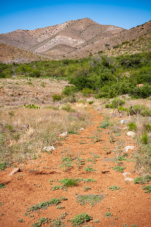 Dirt Trail at Fort Bowie National Historic Site