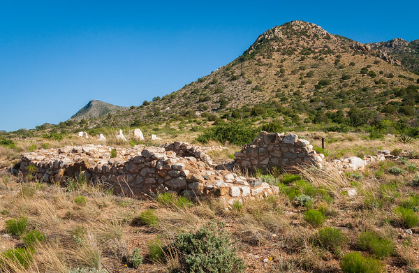 Stone Ruins at Fort Bowie National Historic Site