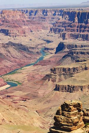 Observer at Grand Canyon National Park