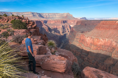 Pondering the Grand Canyon