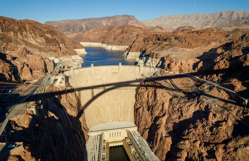 View from the Bridge at Hoover Dam