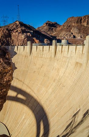 The Wall Dam at Hoover Dam