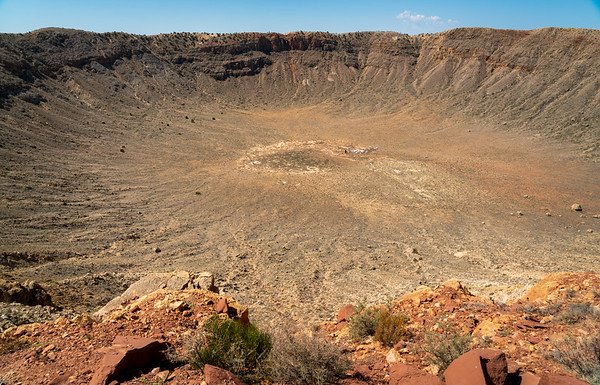 Overlook of the Caynon at Meteor Crater