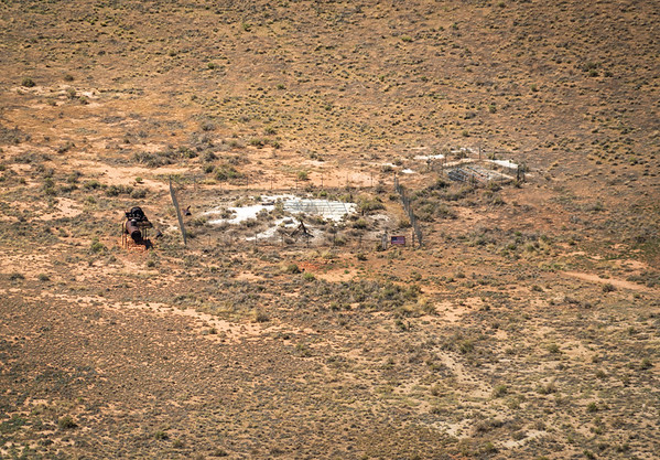 Site at Meteor Crater used to Train Astronauts