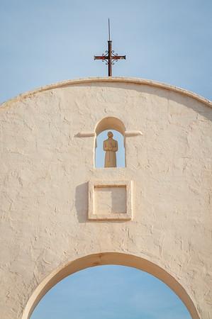 Arch at San Xavier del Bac Church