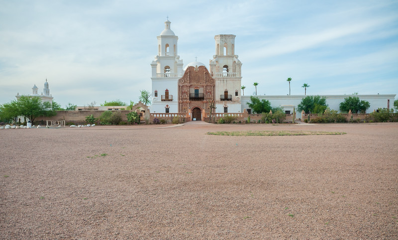 View of Mission San Xavier del Bac