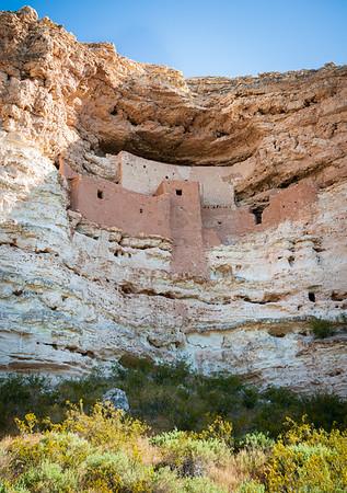 High Cliff Ruins at Montezuma Castle National Monument