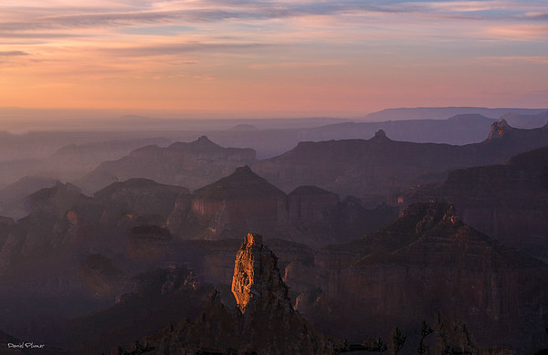 First Light In The Canyon