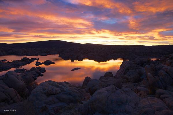 Watson Lake Sunrise