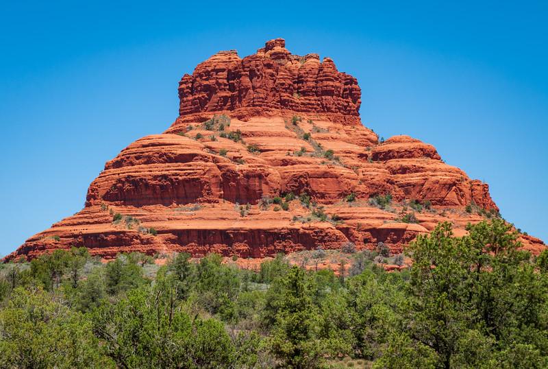 Towering Butte at Sedona, Arizona