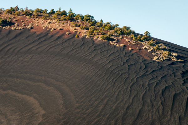 Wavy Texture at Sunset Crater National Monument