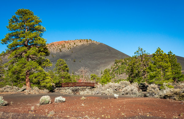 Trail Bridge at Sunset Crater National Monument