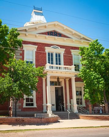 Tombstone Courthouse at Tombstone, Arizona