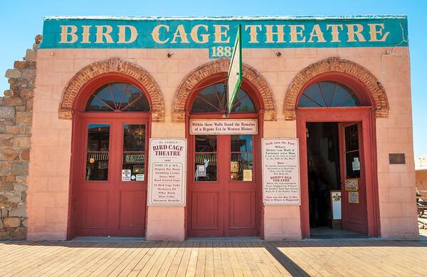 The Theatre at Tombstone, Arizona