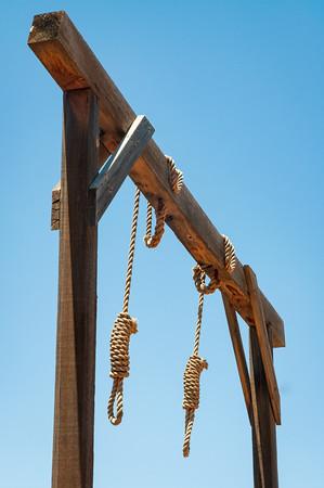 The Gallows at Tombstone, Arizona