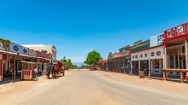 Historic Downtown Area in Tombstone, Arizona