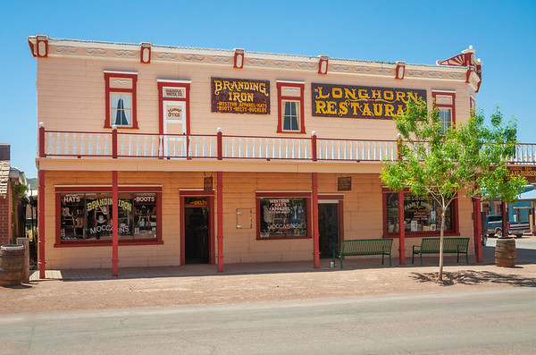 Restaurant and Clothing Store at Tombstone, Arizona