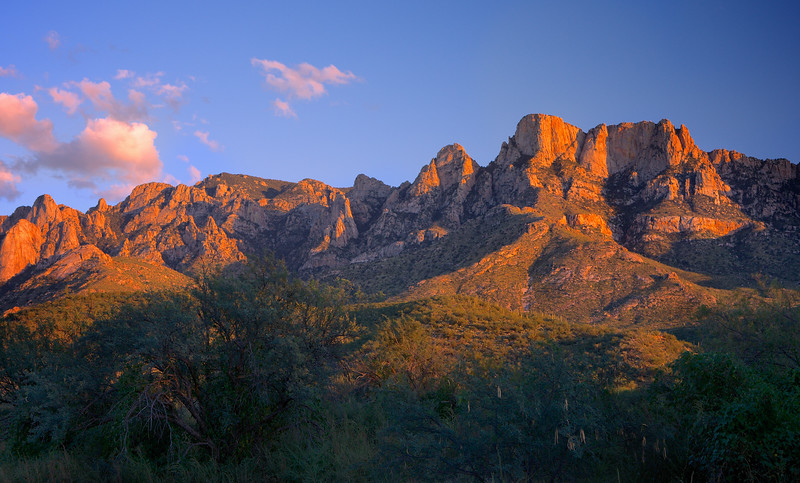 Pusch Ridge Sunset
