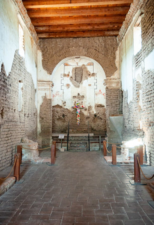 Inside Tumacácori National Historical Park