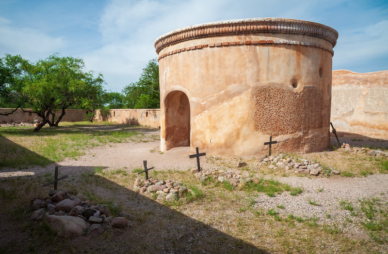 Cemetery at Tumacácori National Historical Park