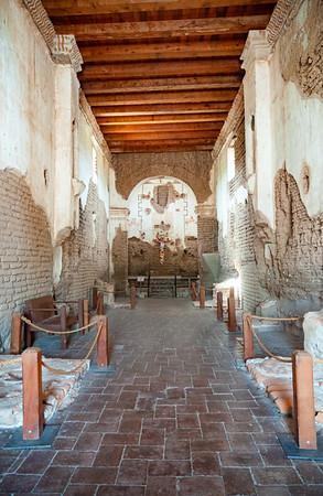 Inside the Ruins of Tumacácori National Historical Park