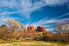 Arizona, Sedona, Red Rock Country, Cathedral Rock Landscape, 亚利桑那, 红岩 沙漠, 风景