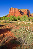 Arizona, Red Rock Country, Sedona,  Courthouse Butte Landscape, 亚利桑那, 红岩 沙漠, 风景