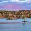 Pastel Sunset @ Watson Lake, Prescott, AZ