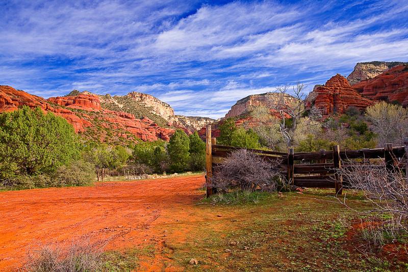 Arizona, Sedona, Red Rock country, Boynton Canyon Landscape, 亚利桑那, 红岩 沙漠, 风景