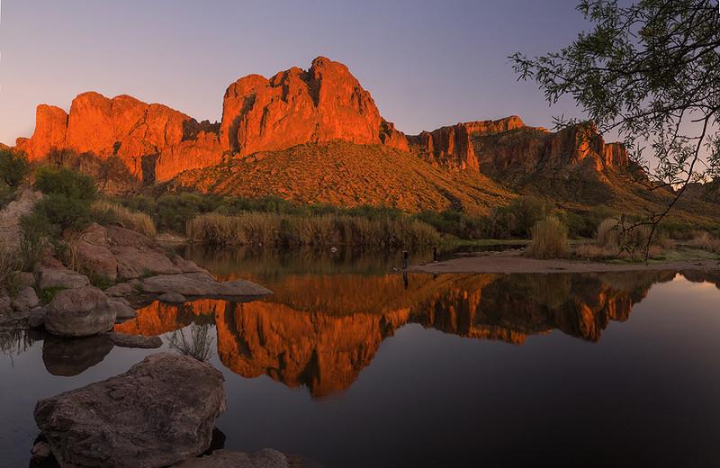 Bulldog Cliffs, Salt River, Mesa