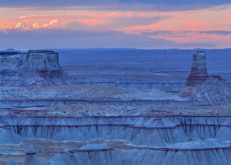 Coal Mine Canyon, Blue Hour