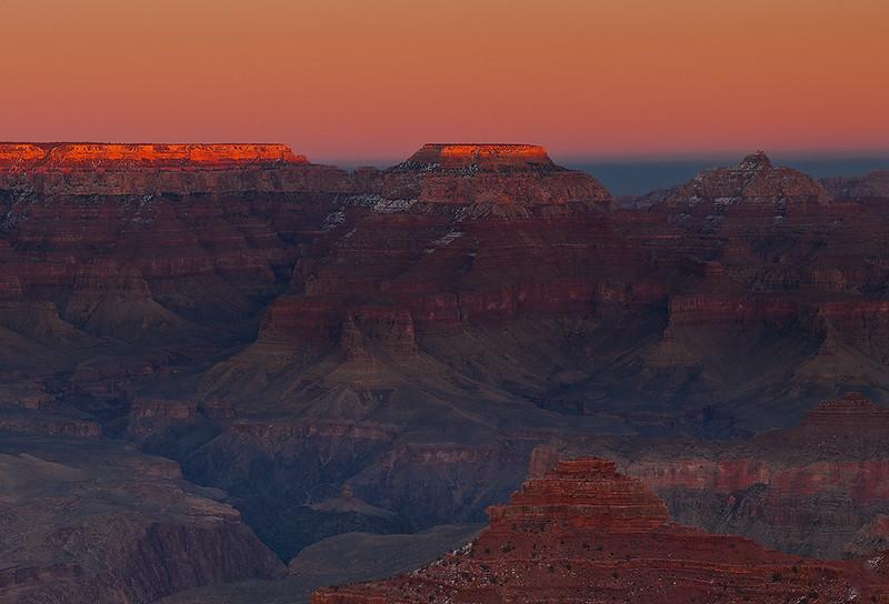 Grand Canyon, winter